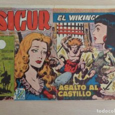Tebeos: SIGUR EL WIKINGO NÚM. 148. ORIGINAL. EDITA TORAY. Lote 186166780