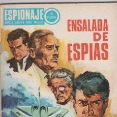 Tebeos: ESPIONAJE -- Nº 61 ENSALADA DE ESPÍAS. Lote 186173342