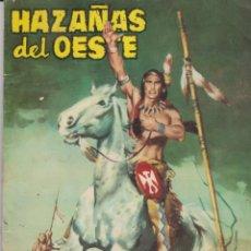 Tebeos: HAZAÑAS DEL OESTE --Nº 5 EL HOMBRE QUE SABÍA EL PORVENIR. Lote 186216327