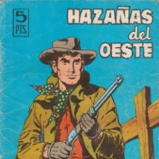 Tebeos: HAZAÑAS DEL OESTE --Nº 110 POR FIN RICOS . Lote 186216727