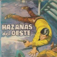 Tebeos: HAZAÑAS DEL OESTE --Nº 3 PLOMO PARA EL SHERIFF. Lote 186217168