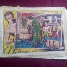 Tebeos: DIXON EL FELINO. Lote 186229092