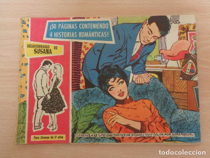 SELECCIONES DE SUSANA. DEL NÚM. 47 AL 50. EDITA TORAY. BUEN ESTADO. (Tebeos y Comics - Toray - Susana)