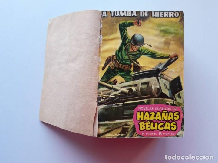1961-1962 HAZAÑAS BÉLICAS NÚMEROS 1 AL 15 EN UN TOMO LEER DESCRIPCIÓN (Tebeos y Comics - Toray - Hazañas Bélicas)