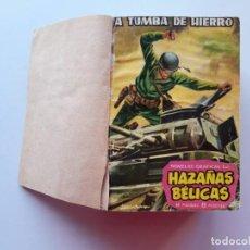 Tebeos: 1961-1962 HAZAÑAS BÉLICAS NÚMEROS 1 AL 15 EN UN TOMO LEER DESCRIPCIÓN. Lote 186389587