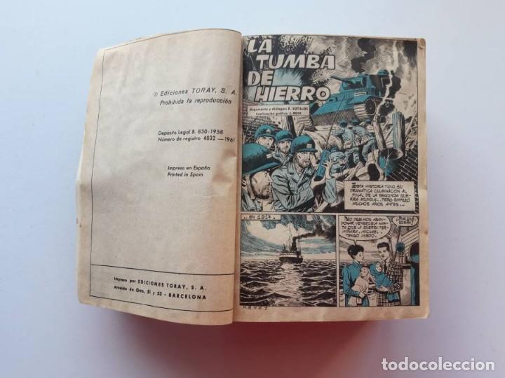 Tebeos: 1961-1962 Hazañas Bélicas números 1 al 15 en un tomo Leer descripción - Foto 2 - 186389587
