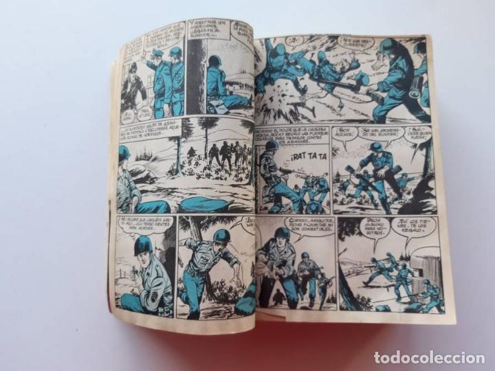 Tebeos: 1961-1962 Hazañas Bélicas números 1 al 15 en un tomo Leer descripción - Foto 7 - 186389587