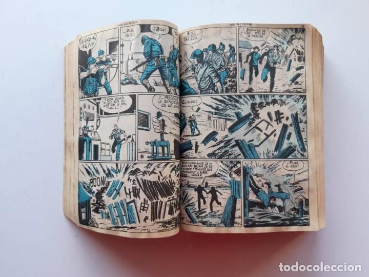 Tebeos: 1961-1962 Hazañas Bélicas números 1 al 15 en un tomo Leer descripción - Foto 9 - 186389587