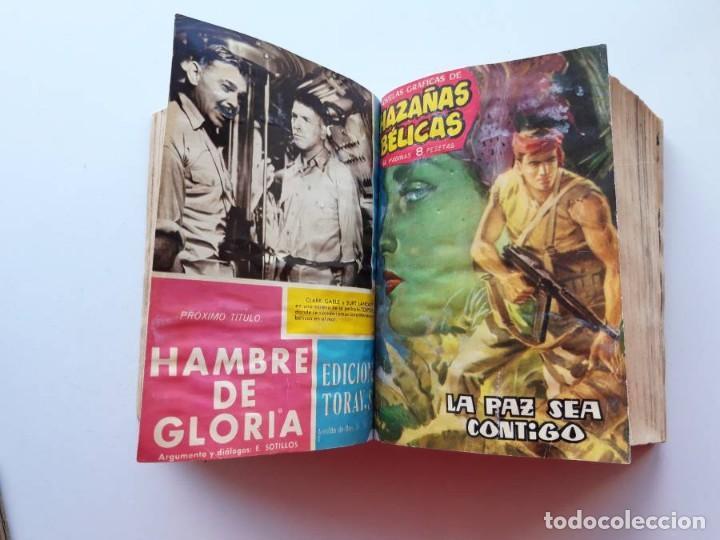 Tebeos: 1961-1962 Hazañas Bélicas números 1 al 15 en un tomo Leer descripción - Foto 10 - 186389587