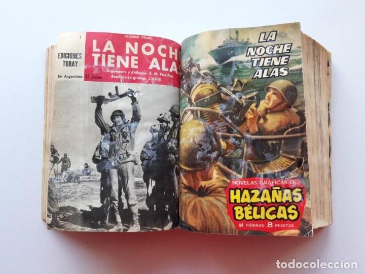 Tebeos: 1961-1962 Hazañas Bélicas números 1 al 15 en un tomo Leer descripción - Foto 12 - 186389587