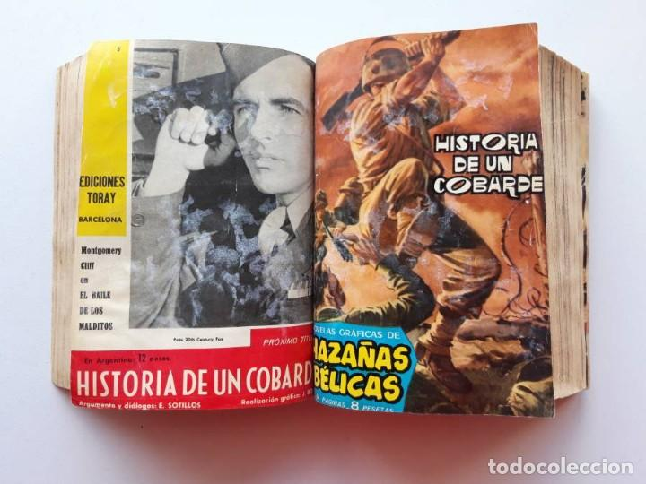 Tebeos: 1961-1962 Hazañas Bélicas números 1 al 15 en un tomo Leer descripción - Foto 14 - 186389587