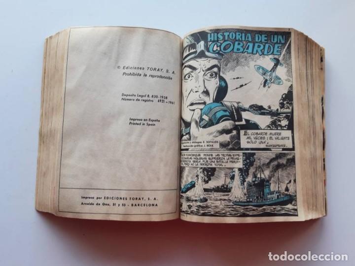 Tebeos: 1961-1962 Hazañas Bélicas números 1 al 15 en un tomo Leer descripción - Foto 15 - 186389587
