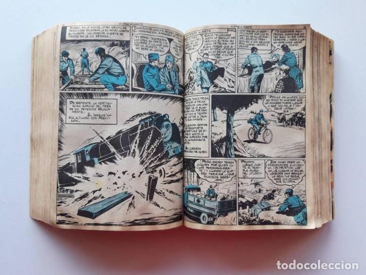 Tebeos: 1961-1962 Hazañas Bélicas números 1 al 15 en un tomo Leer descripción - Foto 18 - 186389587