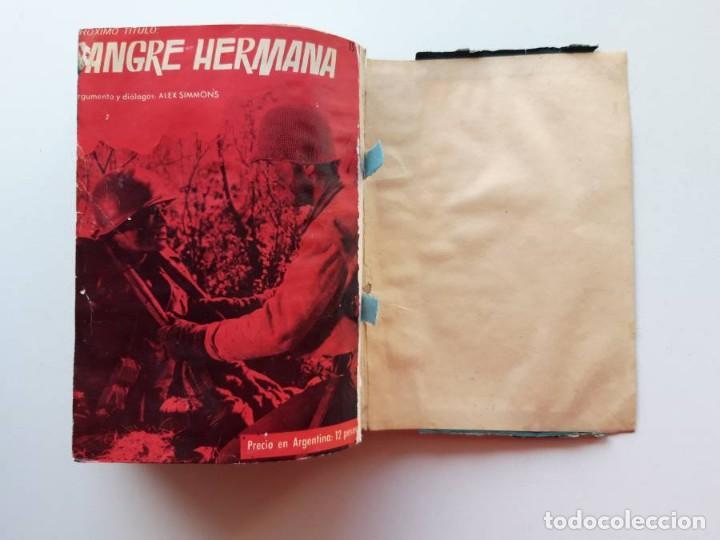 Tebeos: 1961-1962 Hazañas Bélicas números 1 al 15 en un tomo Leer descripción - Foto 33 - 186389587