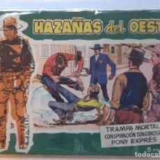 Tebeos: HAZAÑAS DEL OESTE-Nº10-TORAY. Lote 186678807