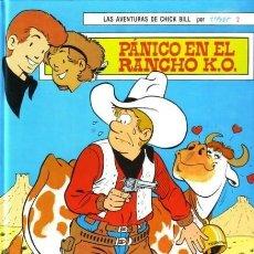 Tebeos: PANICO EN EL RANCHO K.O. - CHICK BILL - TORAY - 1987 - TAPA DURA - 48 PAGS. Lote 187175761