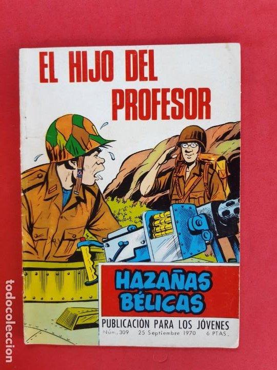HAZÁÑAS BÉLICAS Nº 309-TORAY-1970 (Tebeos y Comics - Toray - Hazañas Bélicas)