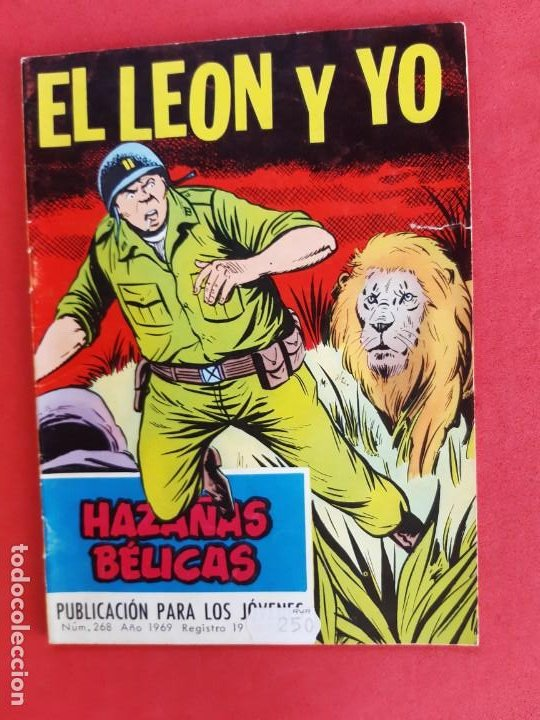 HAZÁÑAS BÉLICAS Nº 268-TORAY-1969 (Tebeos y Comics - Toray - Hazañas Bélicas)