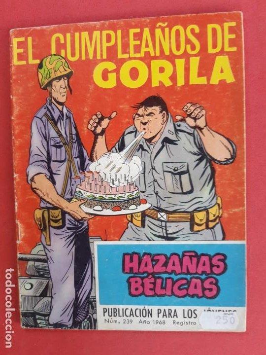 HAZAÑAS BÉLICAS Nº 239 TORAY 1968 (Tebeos y Comics - Toray - Hazañas Bélicas)