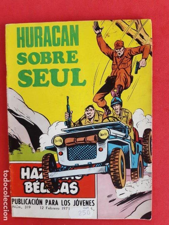 HAZAÑAS BÉLICAS Nº 318 TORAY 1971 (Tebeos y Comics - Toray - Hazañas Bélicas)