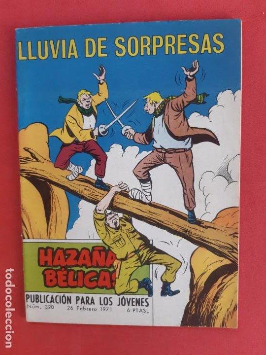 HAZAÑAS BÉLICAS Nº 320 TORAY 1971 (Tebeos y Comics - Toray - Hazañas Bélicas)