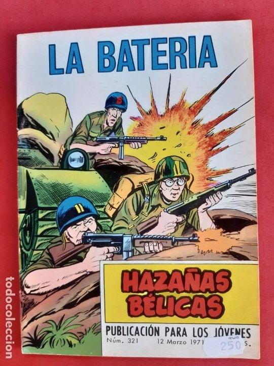 HAZAÑAS BÉLICAS Nº 321 TORAY 1971 (Tebeos y Comics - Toray - Hazañas Bélicas)