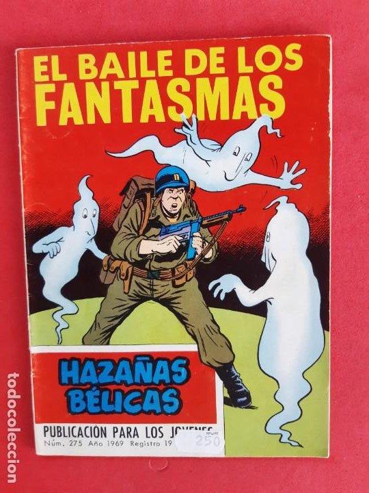 HAZAÑAS BÉLICAS Nº 275 TORAY 1969 (Tebeos y Comics - Toray - Hazañas Bélicas)