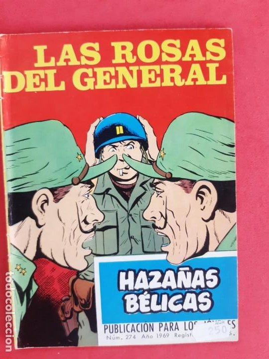 HAZAÑAS BÉLICAS Nº 274 TORAY 1969 (Tebeos y Comics - Toray - Hazañas Bélicas)