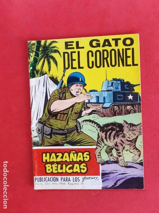 HAZAÑAS BÉLICAS Nº255-TORAY-1968 (Tebeos y Comics - Toray - Hazañas Bélicas)
