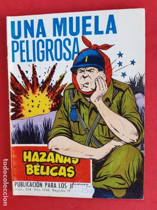 HAZAÑAS BÉLICAS Nº254-TORAY-1968 (Tebeos y Comics - Toray - Hazañas Bélicas)