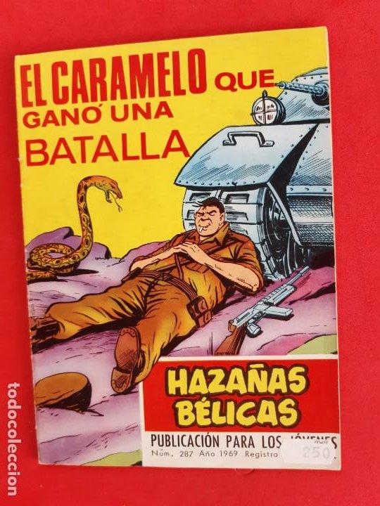 HAZAÑAS BÉLICAS Nº287-TORAY-1968 (Tebeos y Comics - Toray - Hazañas Bélicas)