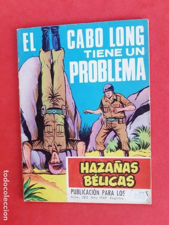 HAZAÑAS BÉLICAS Nº 283 TORAY 1969 (Tebeos y Comics - Toray - Hazañas Bélicas)