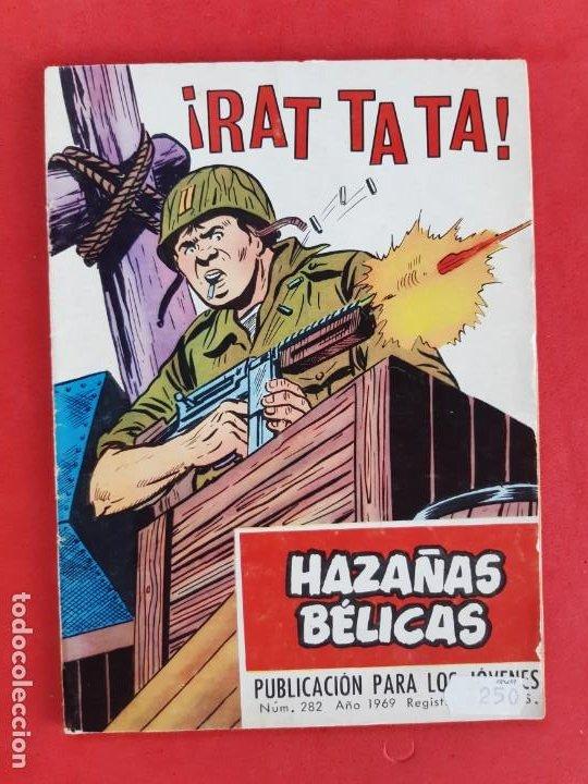 HAZAÑAS BÉLICAS Nº 282 TORAY 1969 (Tebeos y Comics - Toray - Hazañas Bélicas)