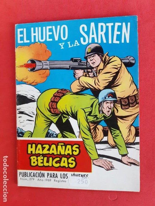 HAZAÑAS BÉLICAS Nº 279 TORAY 1969 (Tebeos y Comics - Toray - Hazañas Bélicas)