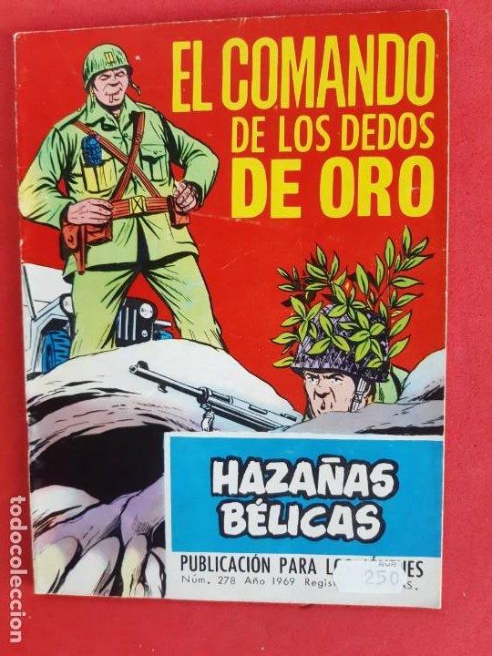 HAZAÑAS BÉLICAS Nº278-TORAY-1969 (Tebeos y Comics - Toray - Hazañas Bélicas)