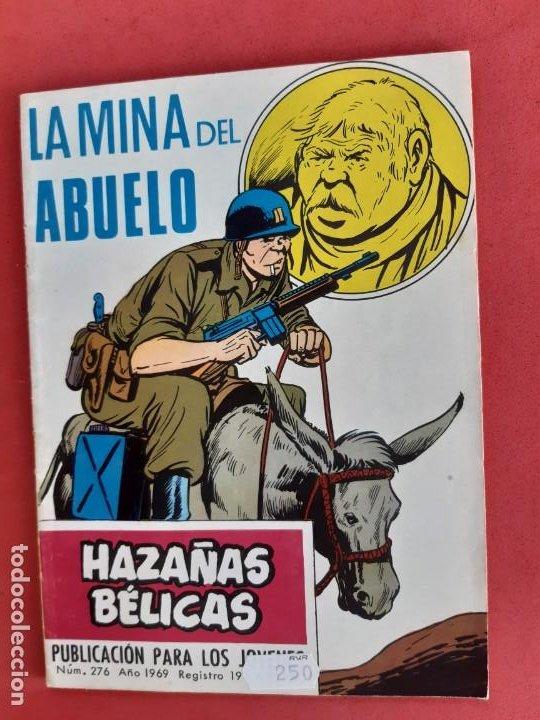 HAZAÑAS BÉLICAS Nº 276 TORAY 1969 (Tebeos y Comics - Toray - Hazañas Bélicas)