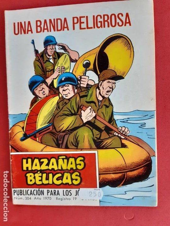 HAZAÑAS BÉLICAS Nº 304 TORAY 1970 (Tebeos y Comics - Toray - Hazañas Bélicas)