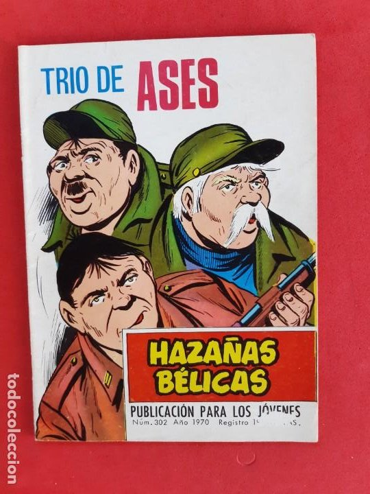 HAZAÑAS BÉLICAS Nº302-TORAY-1970 (Tebeos y Comics - Toray - Hazañas Bélicas)