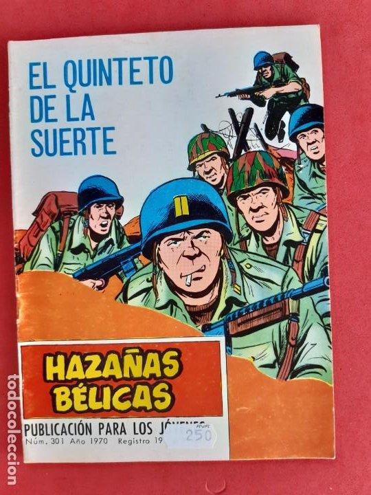 HAZAÑAS BÉLICAS Nº 301 TORAY 1970 (Tebeos y Comics - Toray - Hazañas Bélicas)
