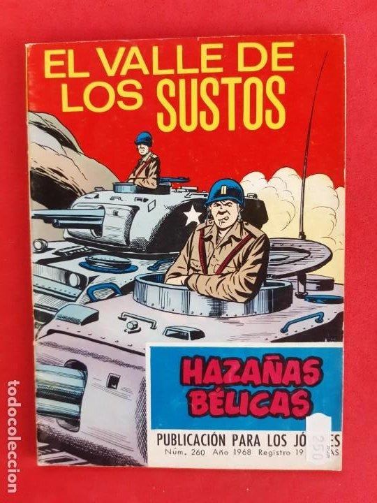 HAZAÑAS BÉLICAS Nº260-TORAY-1968 (Tebeos y Comics - Toray - Hazañas Bélicas)