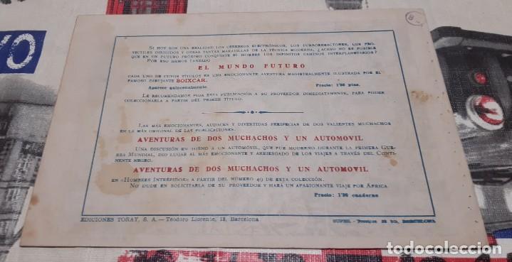 Tebeos: EL MUNDO FUTURO - EDICIONES TORAY / NÚMERO 17 - BOIXCAR - Foto 2 - 188807115