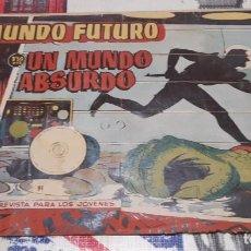 Tebeos: EL MUNDO FUTURO - EDICIONES TORAY / NÚMERO 91. Lote 188807498