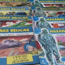 Tebeos: HAZAÑAS BELICAS. 8 NUMEROS. LOTE 1. Lote 189173875