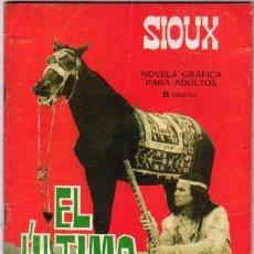 Tebeos: SIOUX - Nº 60 - EL ÚLTIMO BRAVO- 1966- GRAN ANTONIO MÁS- BUENO-MUY ESCASO-LEAN-2615. Lote 189230188
