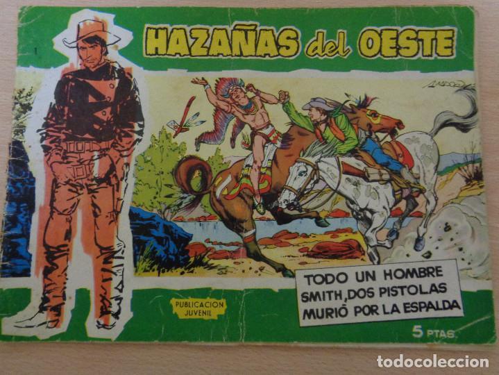 HAZAÑAS DEL OESTE Nº 1. SERIE VERDE. EDITA TORAY 1959 (Tebeos y Comics - Toray - Hazañas del Oeste)
