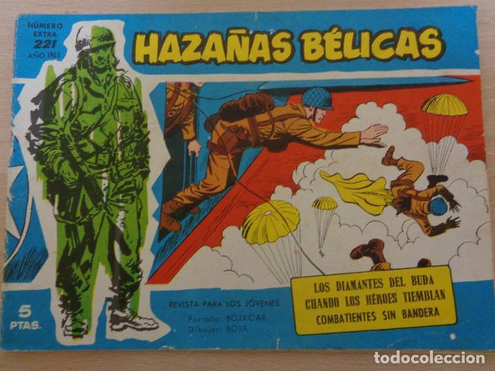 HAZAÑAS BÉLICAS EXTRA AZUL Nº 221. EDITA TORAY 1965 (Tebeos y Comics - Toray - Hazañas Bélicas)