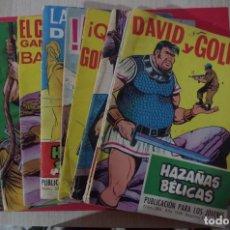 Tebeos: LOTE DE 10 HAZAÑAS BELICAS EDICIONES TORAY 1969 ,1970 , 1971 HAY FOTOS DE TODOS CON SUS NUMEROS. Lote 189477897