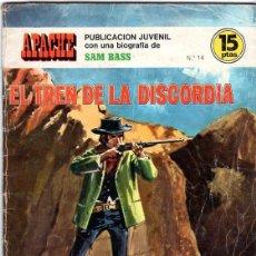 Tebeos: APACHE. EL TREN DE LA DISCORDIA NUMERO 14. Lote 147610602