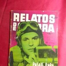 BDs: RELATOS DE GUERRA. Nº 31. PASAJE PARA MALTA. EDICIONES TORAY. 1963. Lote 189623992