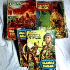 Tebeos: LOTE 26 HAZAÑAS BÉLICAS, LISTA PUBLICADA. EDICIONES TORAY AÑO 1961. Lote 190191858